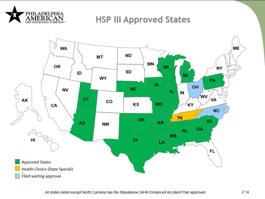 HSP III Map Feb